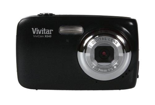 (Vivitar Vivicam X040 10MP Digital Camera - Black)