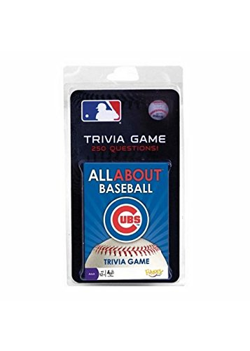 (MLB Chicago Cubs All About Baseball Trivia Card Game)