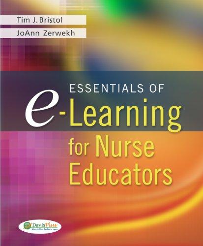 Download Essentials of e-Learning for Nurse Educators (DavisPlus) Pdf