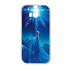 YESGG Charming Disney Frozen Elsa Design Best Seller High Quality Phone Case For HTC M8