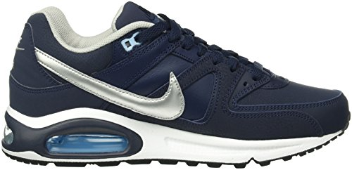 bluecap Silver Obsidian white Air Metallic Scarpe Blu da Leather NIKE Uomo Command Max 401 Corsa aOqzZ7