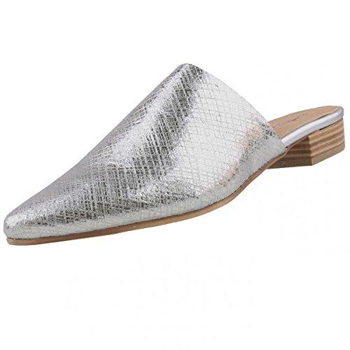 Tamaris Damen 27304 Slipper Silber (Silver metall. 933)