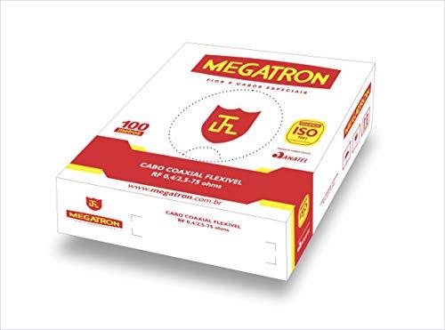 Cabo Coaxial, Megatron 1524, Branco Megatron Branco