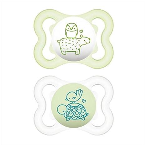 MAM Air Chupete de caucho 2 - 6 meses 2 piezas: Amazon.es: Salud y ...