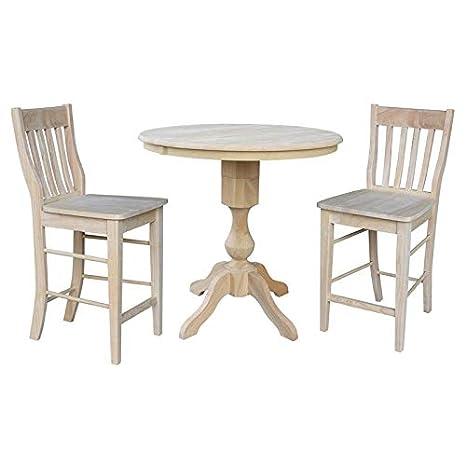 Magnificent Amazon Com International Concepts K 36Rxt 11P S6162 2 36 Beatyapartments Chair Design Images Beatyapartmentscom