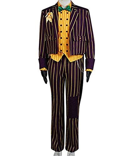 The Joker Cosplay Costume (TISEA Halloween Joker Cosplay Costume Outfit (M))