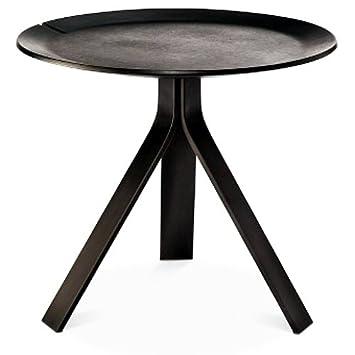 Amazing Modern By Dwell Magazine Side Table Black Amazon Co Uk Download Free Architecture Designs Rallybritishbridgeorg