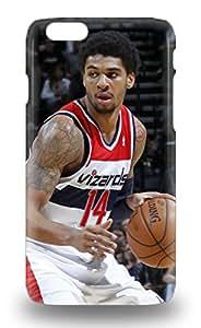 Iphone Premium Phone Case For Iphone 6 NBA Charlotte Hornets Glen Rice #41 Tpu Case Cover