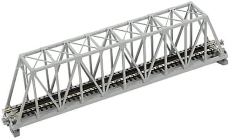 "B0003K28B6 Kato N Scale 9-3/4"" Truss Bridge, Gray 410wdfpVwBL"