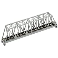 "N 248mm 9-3/4"" Truss Bridge, Gray (japan import)"
