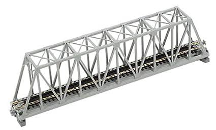 amazon com kato n scale 9 3 4 truss bridge gray toys games