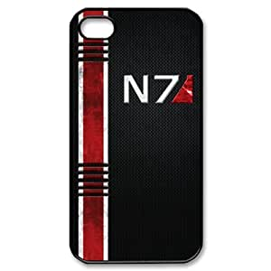 ByHeart mass effect Hard Back Case Skin for Apple iPhone 4 and 4S - 1 Pack - Retail Packaging - 4250