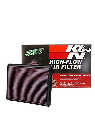 K&N 33-2129 High Performance Replacement Air Filter by K&N