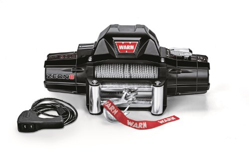 (Warn 88980 ZEON 8 Winch with Wire Rope - 8000 lb.)