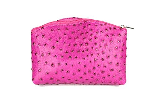 """Bellini"" BELLI westhome pelle TROUSSE compone la Cassa - libera scelta dei colori - 18 x 13 x 5 cm (B x T) Pink strauss"