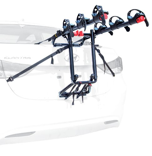Allen Sports Premier 3-Bike Trunk Rack (Review Toyota Sedan Yaris)