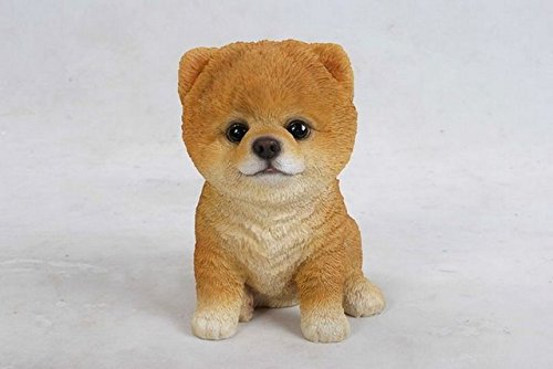 Pomeranian Statue Big for sale | Only 3 left at -65%