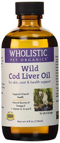 Wholistic Pet Organics Feline Cod Liver Supplement, 4 fl. oz
