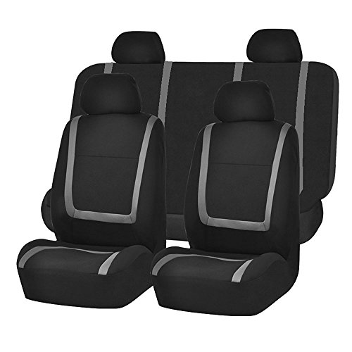 FH Group FB032GRAY114 Detachable Headrests