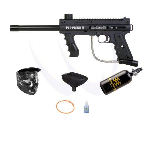 Tippmann Custom PS Ultra Basic Paintball Gun Empire HPA N2 Basic Pack by Tippmann