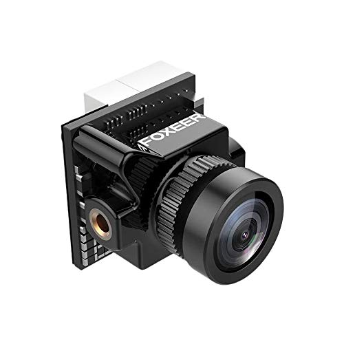 Foxeer Micro Predator 4 Super WDR 4ms Latency 1000TVL FPV Racing Camera with OSD for RC Drone-Black Pad