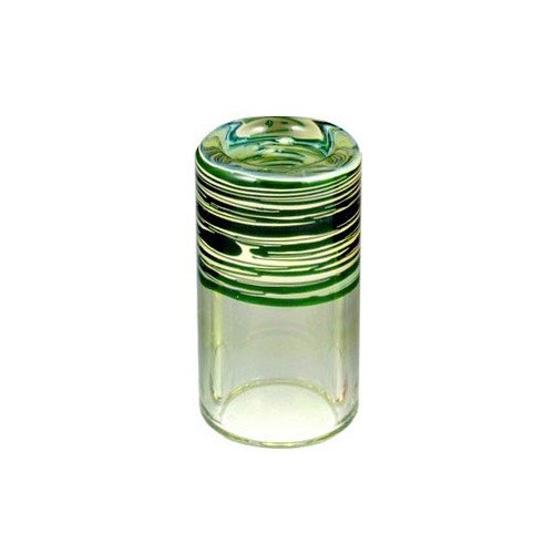 Silica Sound 425 Thick Shorty Glass Slide Emerald Green