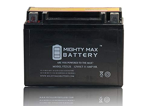 Mighty Max Battery YTZ12S Powersports Replacement CTZ12S GTZ12S PTZ12S WPZ12S UTZ12S Brand Product by Mighty Max Battery