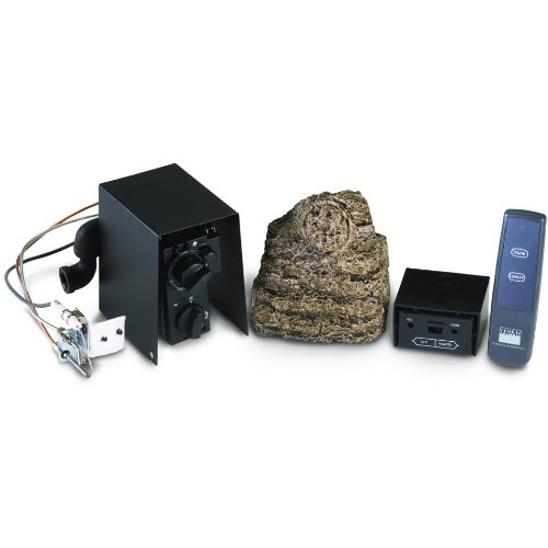 Peterson Real Fyre Propane Gas Automatic Pilot Kit With Basic Variable Flame Height Remote by Peterson Real Fyre