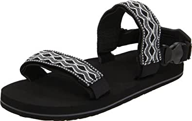 Amazon Com Reef Men S Convertible Grey Black 6 M Us Shoes