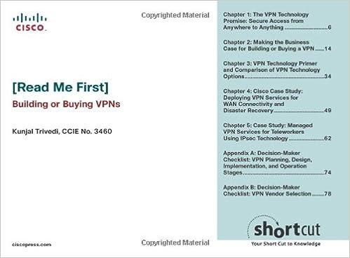 Buy [Read Me First] Building or Buying VPNs (Digital Short