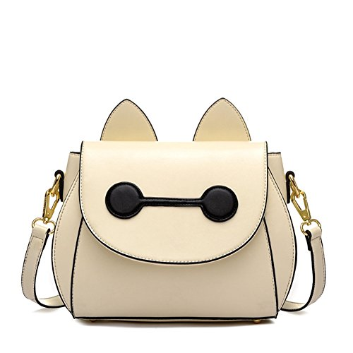 Hipytime BHB880455C2 Fashion PU Leather Cute Cartoon Women's Handbag,Square Cross-Section Messenger - Tiffany Outlet Usa Store