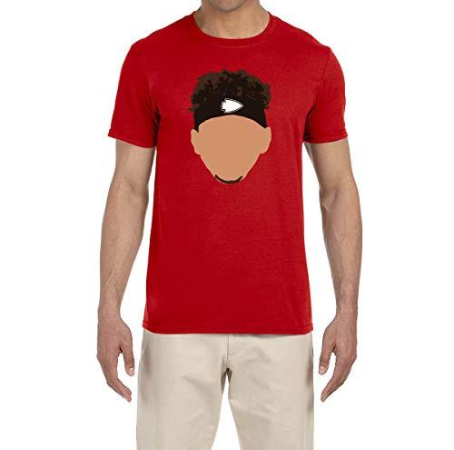 (Tobin Clothing RED Kansas City Mahomes Face T-Shirt Youth Medium)
