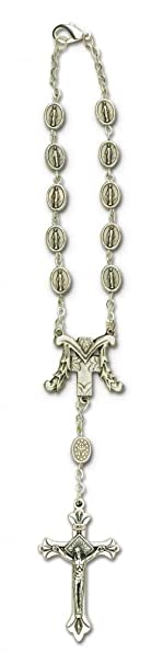 Guardian Angel Car Mirror Rosary One Decade Gifts of Faith