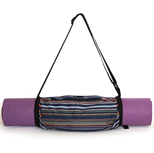 Aurorae Yoga Mat Sling Carrier (Navy Multi)