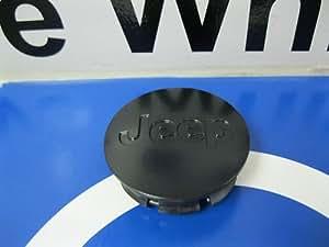 LIBERTY WRANGLER BLACK WHEEL CENTER CAPS CAP HUB ARTIC COD MW3 MOPAR OEM NEW