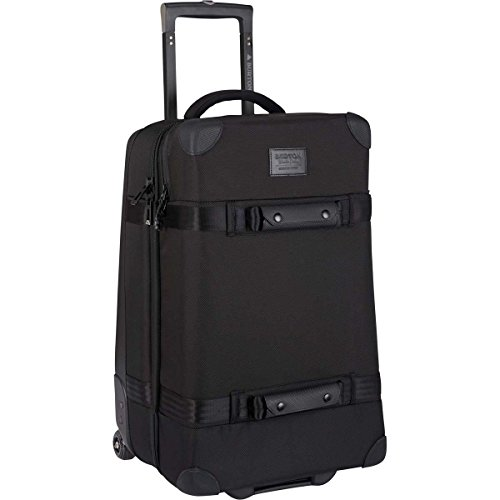 Burton Wheelie Cargo 65L Travel Bag, True Black Ballistic W19