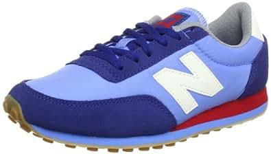 New Balance U410 - Zapatillas de material sintético unisex, color azul, talla 37