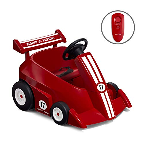Big Save! Radio Flyer Grow with Me Racer Children's Powered Ride Ons, Red
