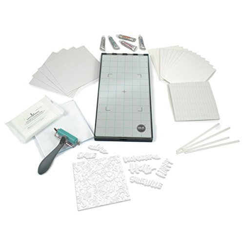 Lifestyle Crafts L Letterpress Platform Kit - Letterpress Printed Card