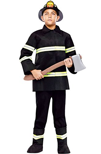 Mememall Fashion Firefighter Fire Chief Child Halloween Costume (Chief Indian Princess Costume)