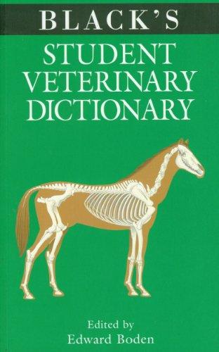 Black's Student Veterinary Dictio (Black's Veterinary Dictionary)