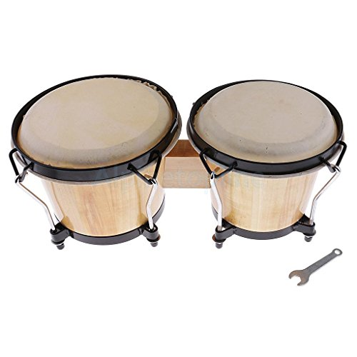 Orff Bongo Drum African Drum Percussion Instruments for Band Performances