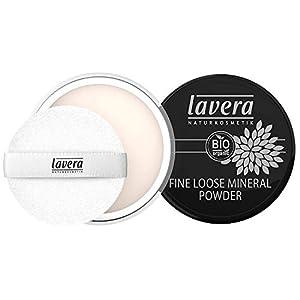 lavera Poudre Libre Minérale – Fine Loose Mineral Powder – Poudre minérale fine – vegan – Cosmétiques naturels – Make up…