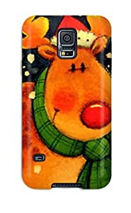ZmFNgZx941vyxid MeaganSCleveland Christmas Feeling Galaxy S5 On Your Style Birthday Gift Cover Case