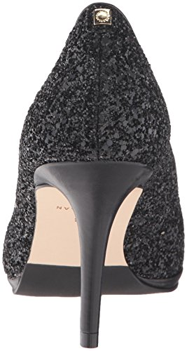 Cole Haan Women's Davis Ot 75 Dress Pump Black Glitter/Black Leather i7wjMGy