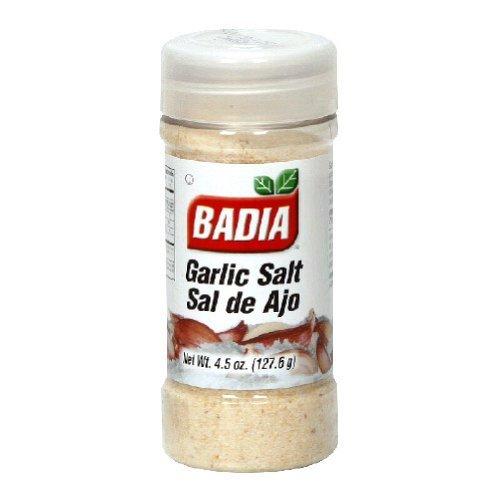 Badia Salt Garlic, 4.5-Ounce (Pack of 12)