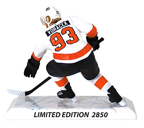 NHL Figures Jakub Voracek r/éplica de Jugador de 6 Pulgadas Philadelphia Flyers