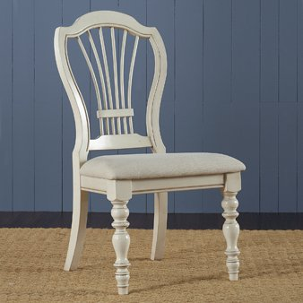 Hillsdale Pine Island Wheat Back Dining Chair (Set of 2)