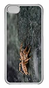 iPhone 5C Case, Personalized Custom Spider 16 for iPhone 5C PC Clear Case by Maris's Diary