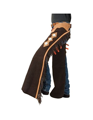 (Tough-1 Suede Leather Show Chaps)